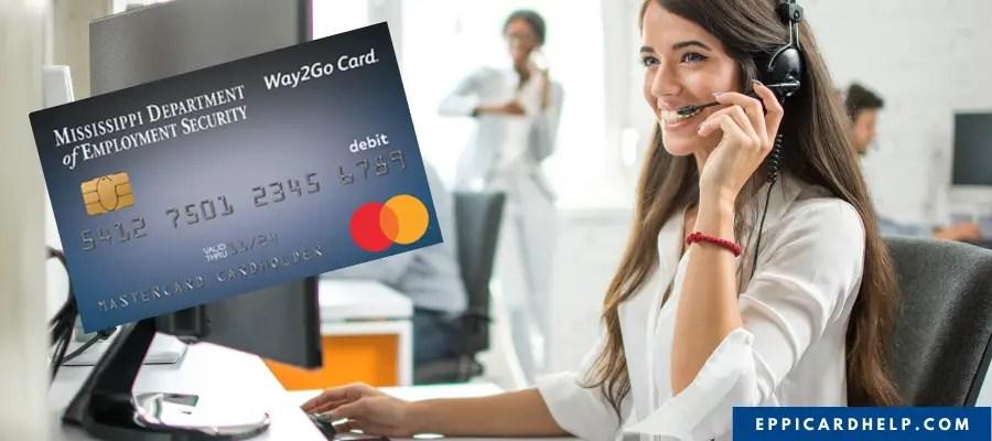 Way2Go Card Mississippi Customer Service