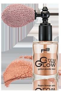 golden powder dust mit Swatch