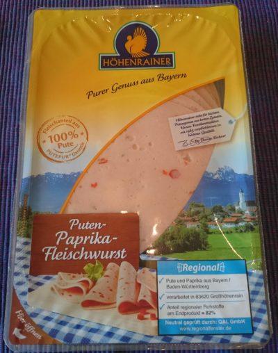 Höhenrainer Puten Paprika-Fleischwurst