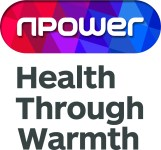 Npower Health Through Warmth Logo