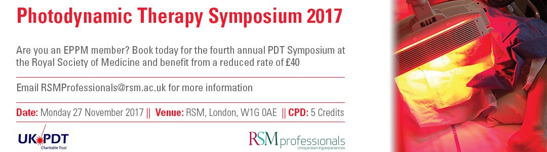 RSM PDT Symposium - Discount for EPPM members