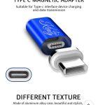 EKING Magnetic USB 3.1 Type CFemale to Micro C Male