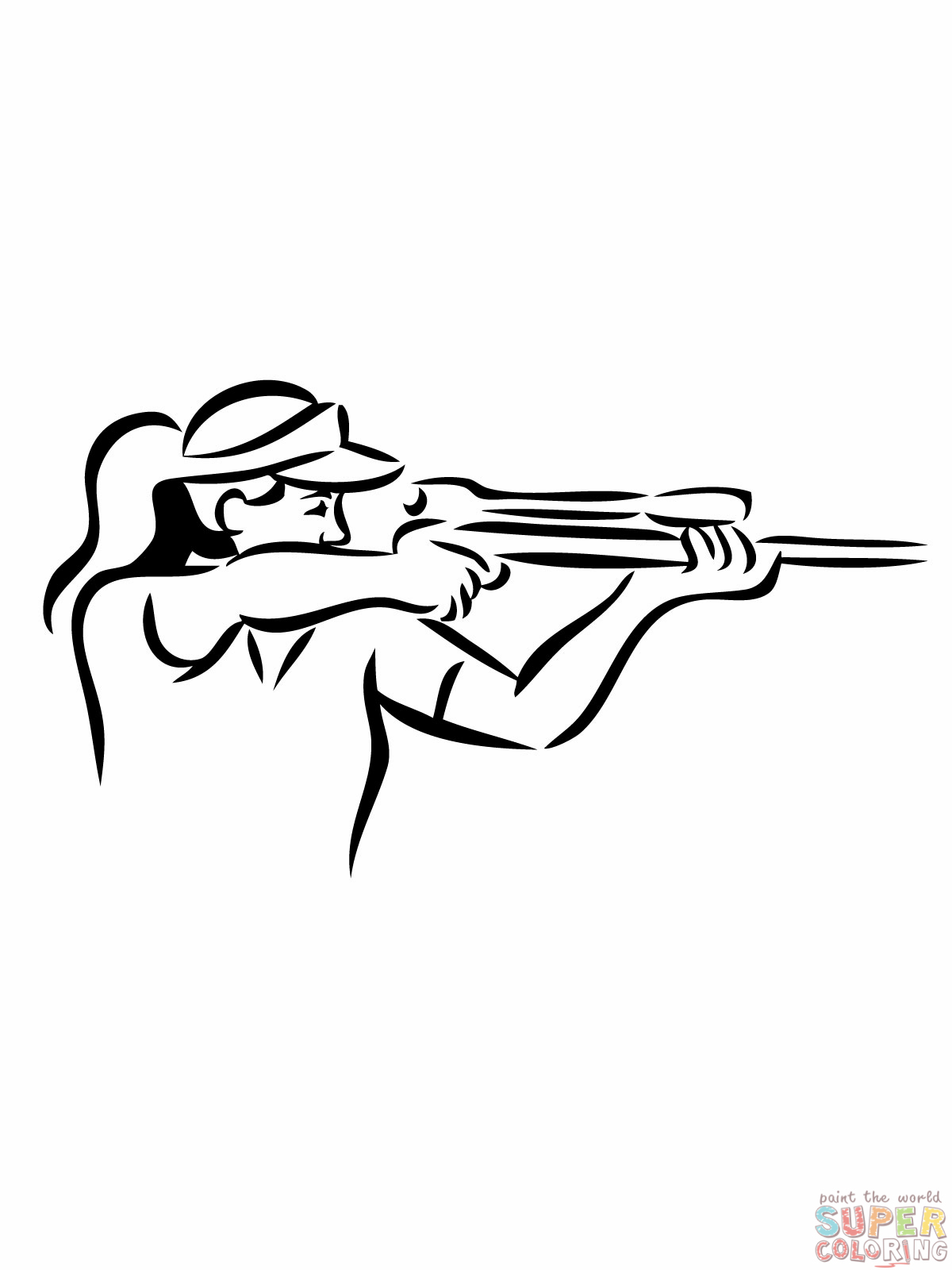 Guns Coloring Pages