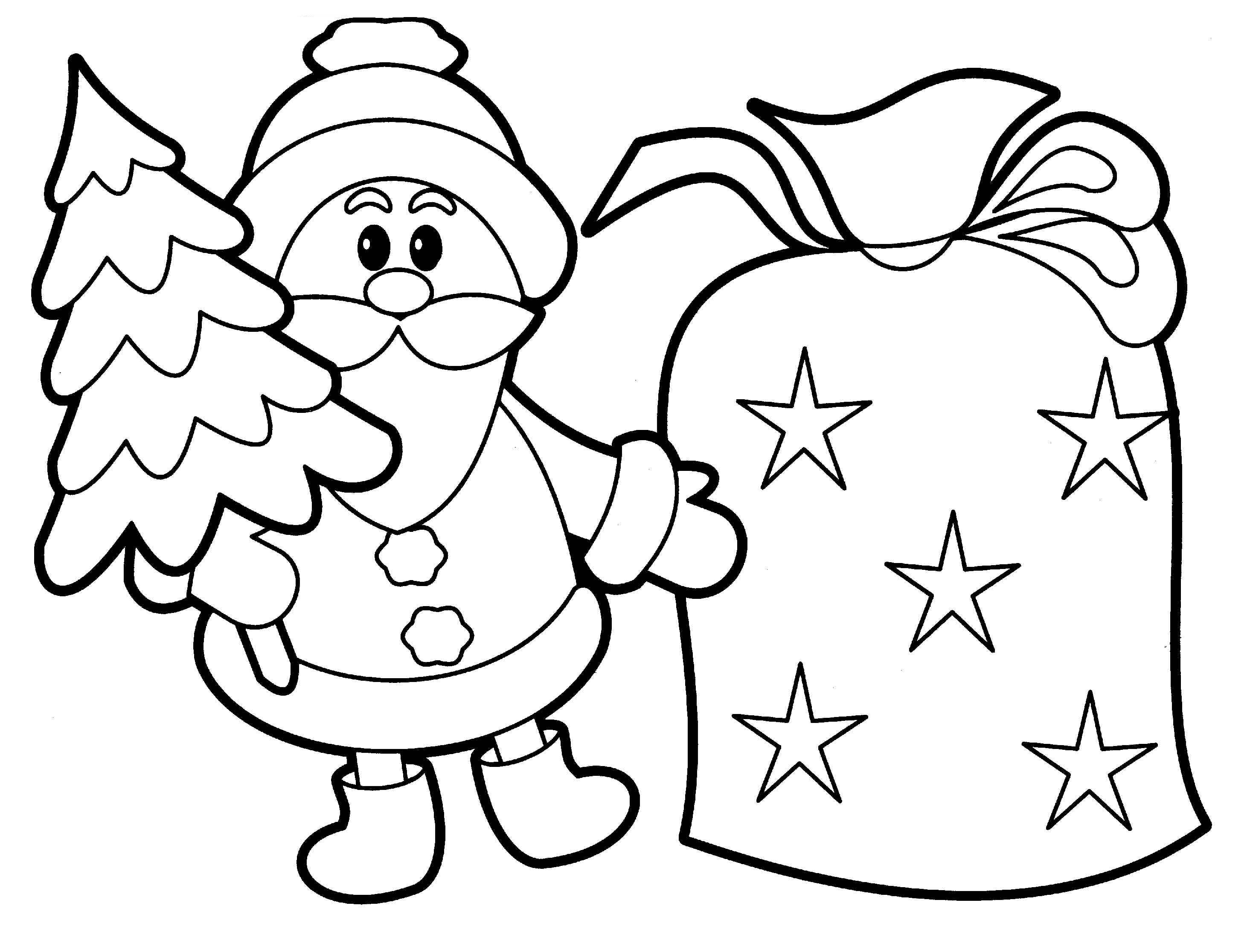 Christmas Coloring Page 20 Free Printable Coloring Pages For