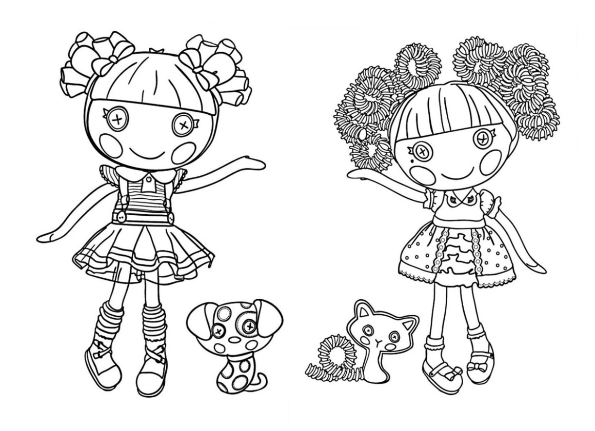 Lalaloopsy Coloring Pages Colouring Pages 15 Free Printable