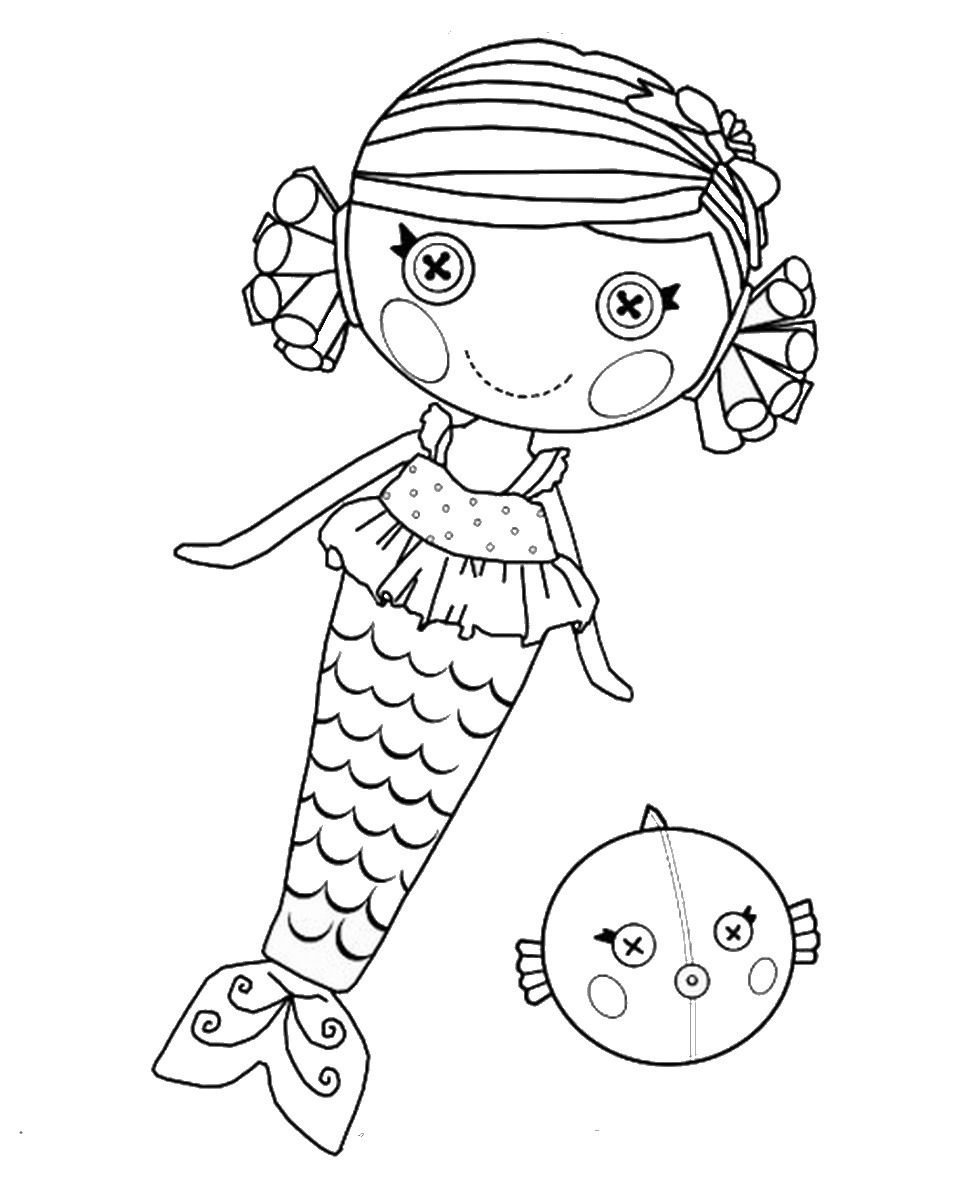 Lalaloopsy Coloring Pages Colouring Pages 23 Free Printable