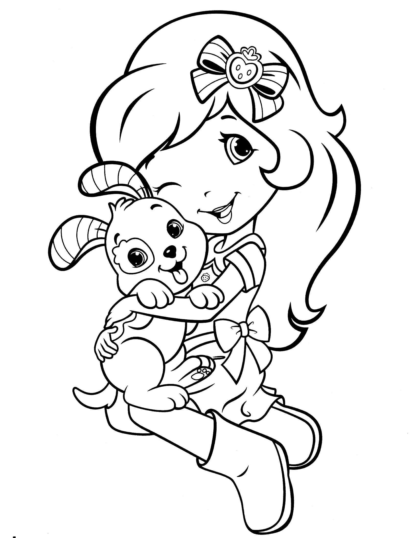 Strawberry Shortcake Coloring Pages Cool Coloring Pages 25