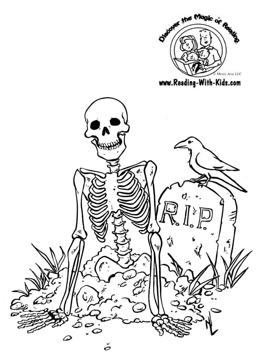 Skull Halloween Coloring Pages Free Printable Coloring