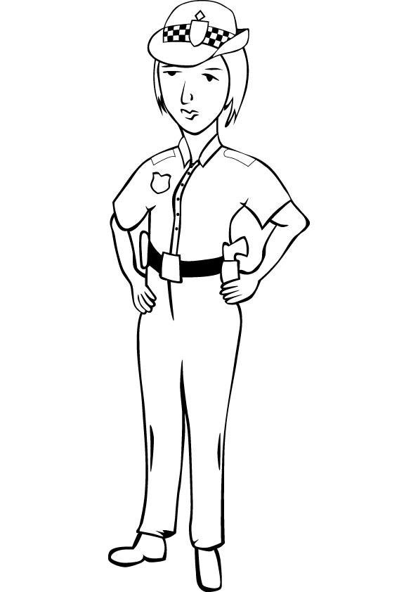 Police Coloring Pages Coloring Pages To Print Color