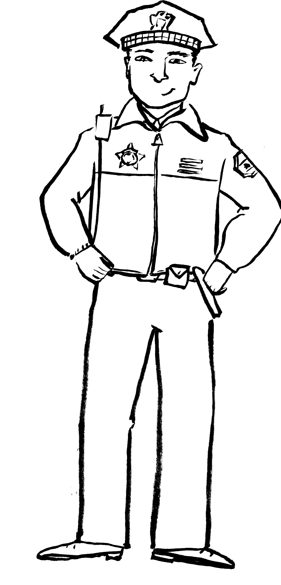 Police Coloring Pages Coloring Pages To Print