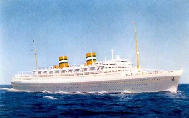 Nieuw Amsterdam - Cruising in the 1960s