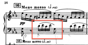 1st movement, coda