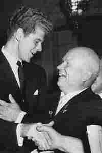 Van Cliburn and Krushchev