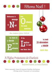 Affiche Noel 2014