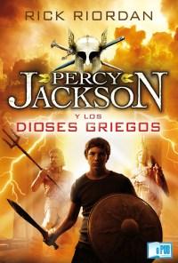 Percy Jackson y los dioses griegos - Rick Riordan portada