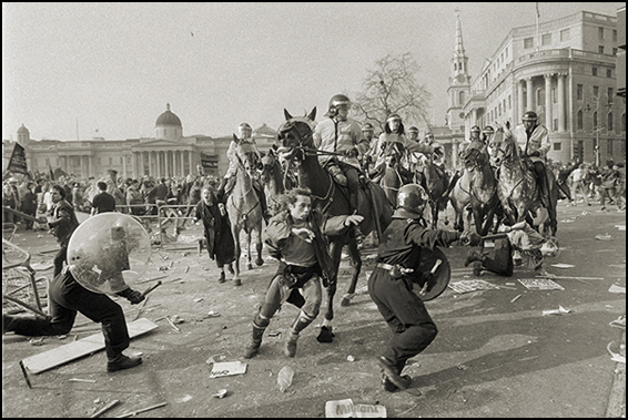 Poll Tax riots 1990