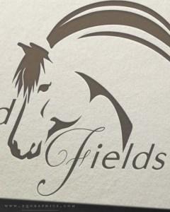 Line Art Norwegian Fjord Horse Logo Contains Exquisite Details