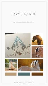 Line Art Fjord Horse Logo Promotes Beautiful Visual Branding for Equine Therapy Ranch