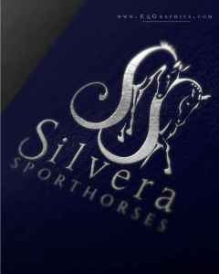 Gorgeous Eventing Horse Logo Adds Elegance to Brand's Letterhead