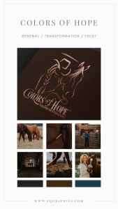 Touching Custom Logo for Equine Assisted Therapy Program