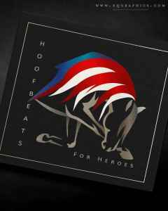 Equine Assisted Therapy Logo Receives Patriotic Touch for Veterans