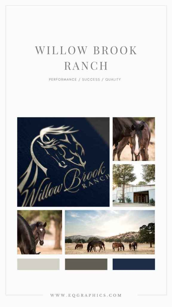 AQHA Breeder's Logo Combines West Coast Aesthetic with Western Performance Style