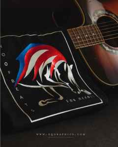 American Horse Logo Design for Equine Assisted Therapy Program With Patriotic Cause