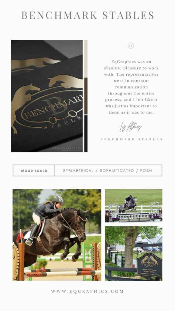 Elegant & Traditional Snaffle Bit Logo for Grand Prix Show Jumping Facility