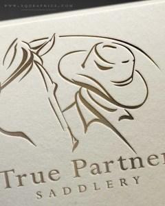 Custom Made Saddlery's Custom Logo Tells Brand Mission at a Glance