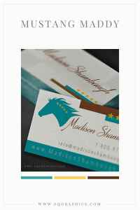 Free-Spirited Wild Horse Logo Design for Extreme Mustang Makeover Champion