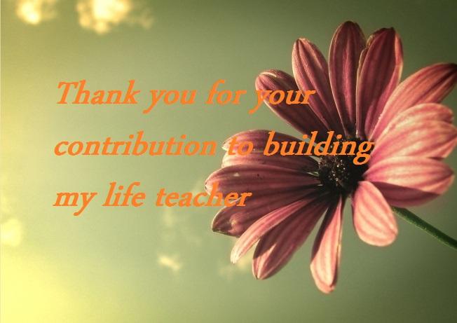 كلمة شكر للمعلم قصيرة بالانجليزي
