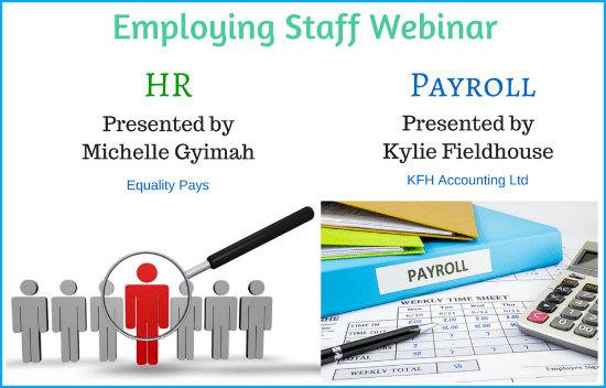 Free Webinar: Avoid The Most Common Mistakes When Employing Staff!