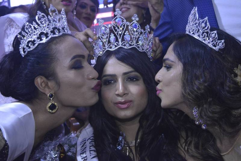 Nitasha Biswas - first indian trans queen