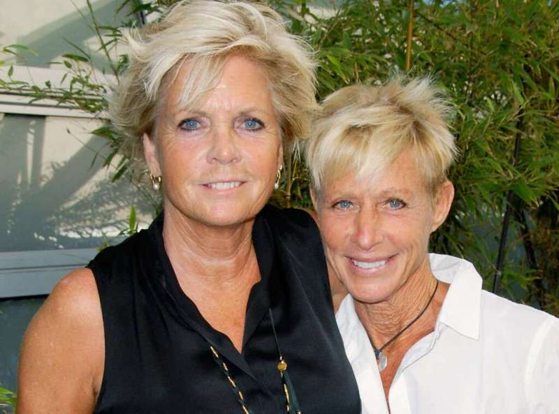 Female Celebrities who Left Their Men for Women - Meredith Baxter and Nancy Locke