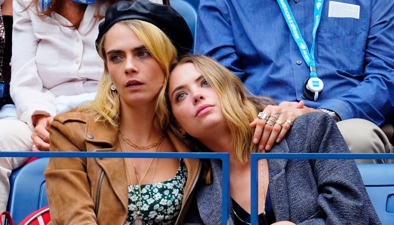 Cara Delevingne Pansexual with Ashley Benson