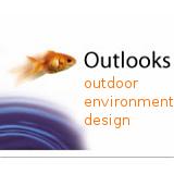 outlooks outdoor environment design goldfish logo
