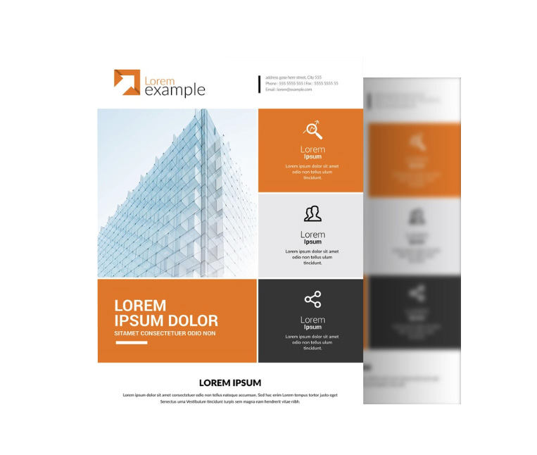 Flyer Designer Construction London
