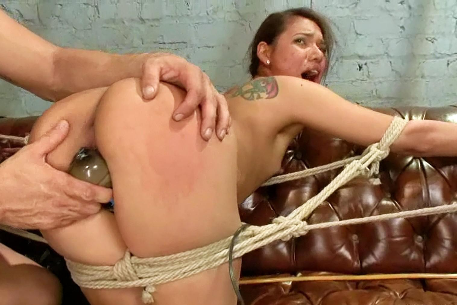 Black woman in bondage and Dominant ethnic group