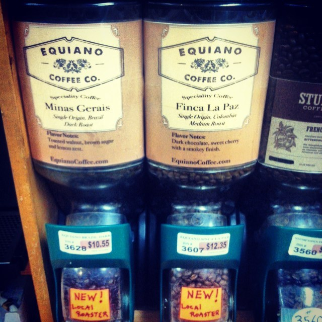 wholesale coffee in the store