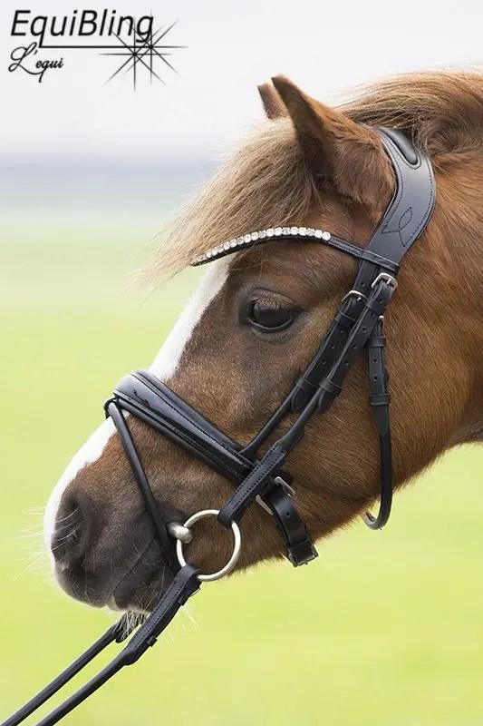 anatomisch pony hoofdstel L'equi Apache