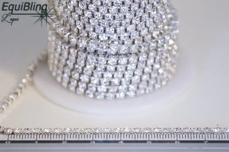 3mm strassketting crystal