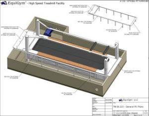 EquiGym  High Speed Treadmill  Specifications