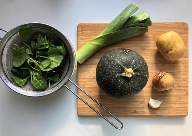 légumes soupe