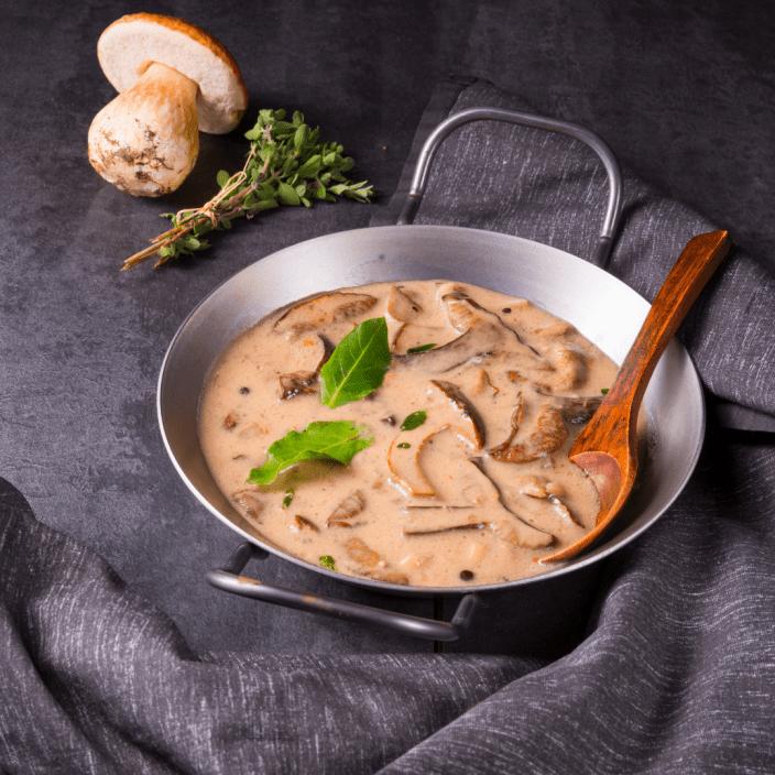 crème de champignon vegan