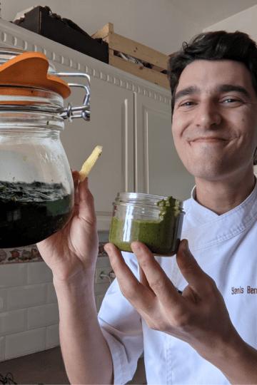 Pesto d'ail des ours lactofermenté