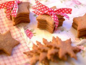 Sablés de Noël au sarrasin pour des fêtes gourmandes !