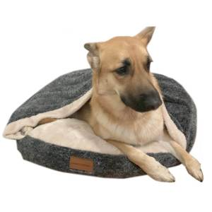 relaxing dog bed
