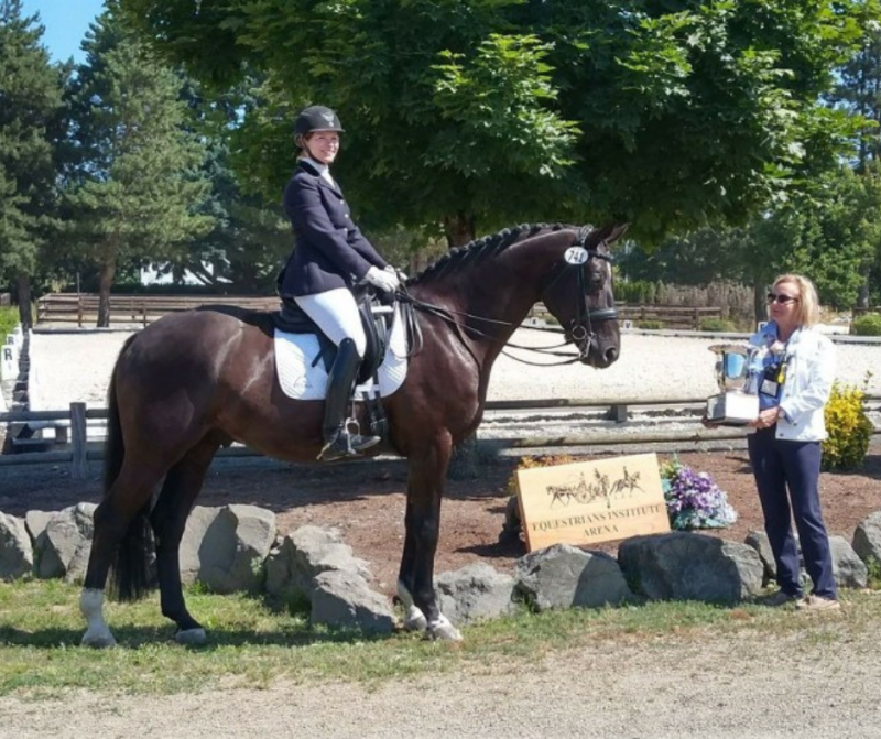 """I have been feeding Equina since 2016 and the horses have consistently shown a marked response to each product…I love the REPAX – gives the most sensitive horses a quiet confident ability to face the stresses of the show environment and helps in the daily training as they seem to think through new challenges more easily...."" - Jessica Wisdom"