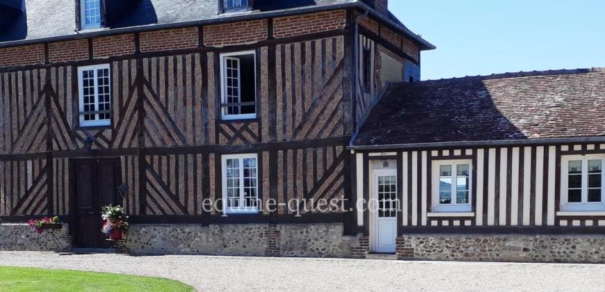 Normandie – Belle demeure – 2 hectares