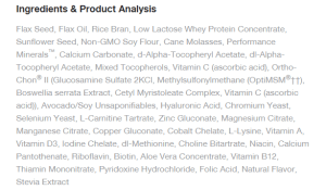 various synthetics - equine nutrition